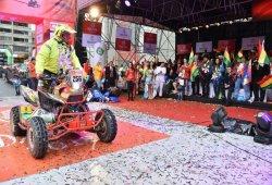 Dakar 2018, día de descanso: Bolivia se vuelca con el rally
