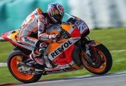 Dani Pedrosa lidera el primer día del test MotoGP de Sepang