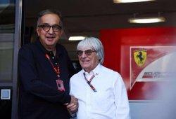 """Ecclestone: """"Marchionne puede vivir sin la F1, sólo le interesa el negocio"""""""