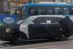 La versión de producción del Kia Telluride avistada por primera vez