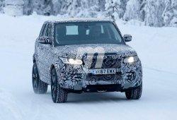 La nueva generación del Land Rover Defender llega a Suecia como una mula de pruebas