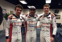 """Norris: """"Alonso ha estado muy abierto a ayudarnos, he aprendido mucho de él"""""""