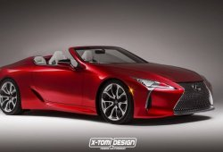 Lexus planea ampliar la gama LC con un cabrio y una versión más deportiva F