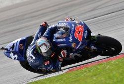 Maverick Viñales recoge el testigo en el test MotoGP de Sepang