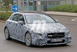 El nuevo Mercedes-AMG A 35 2018 continúa con las pruebas en carretera