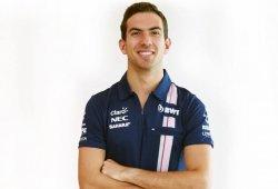 Nicholas Latifi se une a Force India como piloto reserva y probador