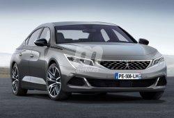 Así será el nuevo Peugeot 508 que debutará en el Salón de Ginebra 2018
