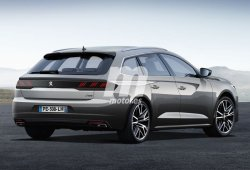 Peugeot 508 SW 2019: adelanto de la variante familiar