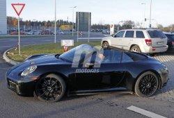 Las primeras imágenes del nuevo Porsche 911 Cabriolet sin capota