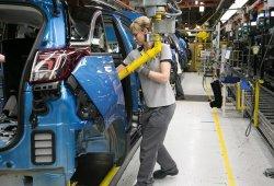 La producción de vehículos en España cerró 2017 con una caída del 1,5%