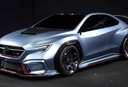 El nuevo Subaru Viziv Performance STI Concept debuta en sociedad