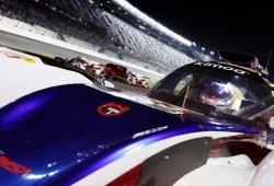 [Vídeo] Alonso y el resto de pilotos ruedan en la noche de Daytona