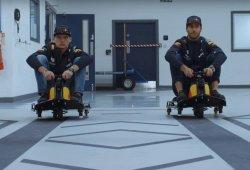 [Vídeo] Ricciardo y Verstappen se divierten en Milton Keynes
