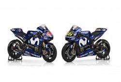 Yamaha presenta los colores de la YZR-M1 de 2018 y renueva a Viñales