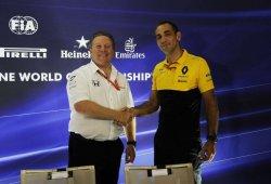 """Brown y la fiabilidad de Renault: """"Saben lo que hacen, han ganado seis títulos"""""""