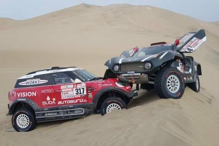 Dakar 2018, etapa 4: Un fiasco exprés para Mini X-Raid