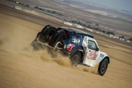 Dakar 2018, etapa 4: Playa y dunas, pero siempre arena