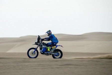 Dakar 2018, etapa 4: Manda Van Beveren, Sunderland KO