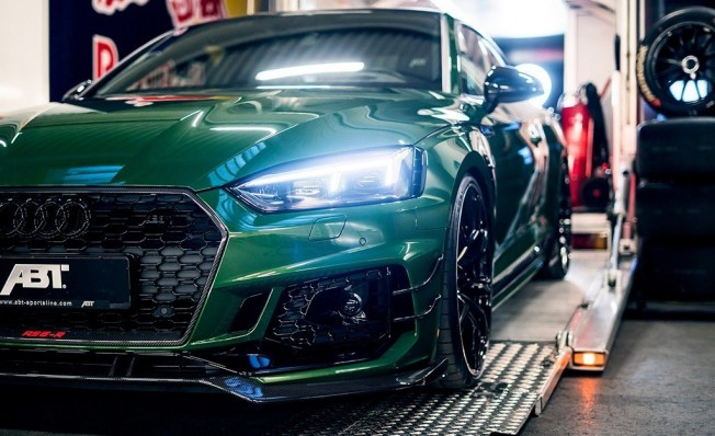 ABT RS5-R - frontal