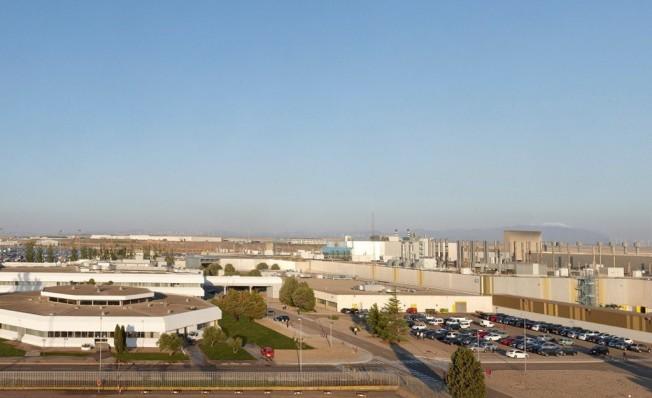Planta de Opel en Figueruelas, Zaragoza