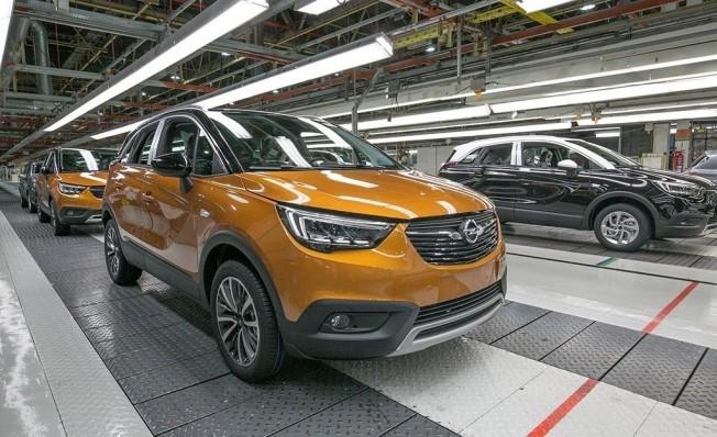 Producción del Opel Mokka X en Zaragoza