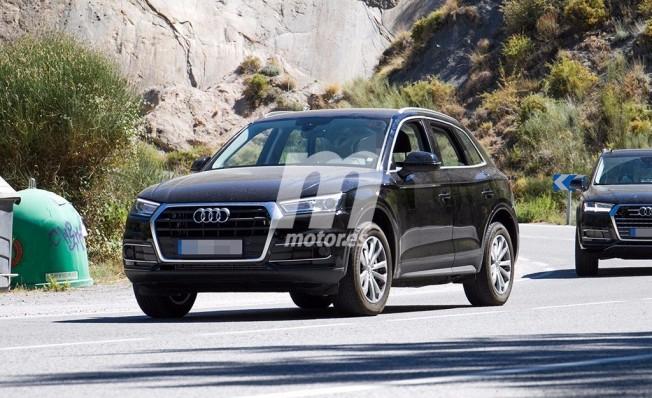 Audi Q5 e-tron - foto espía