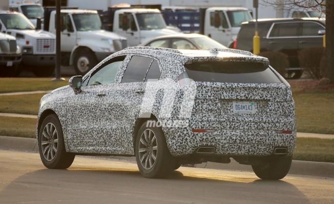 Cadillac XT4 - foto espía posterior