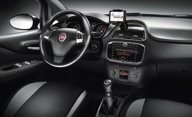 Fiat Punto - interior