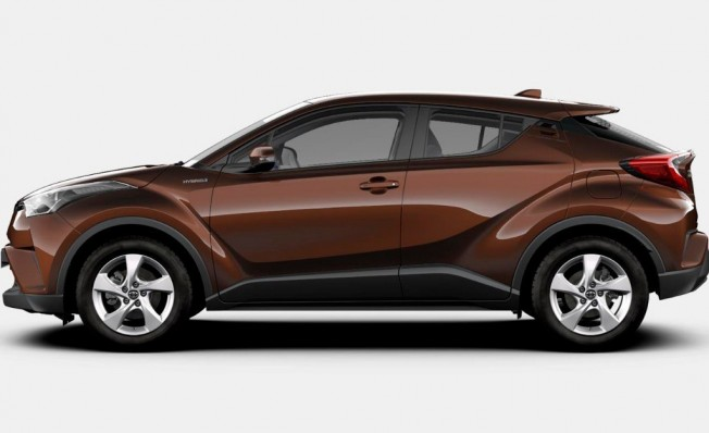 Toyota C-HR - lateral