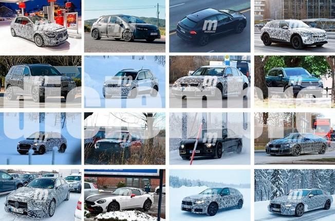 Recopilación de las mejores fotos espía de coches - Diciembre 2017