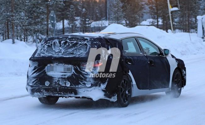 Hyundai i40 Cw 2019 - foto espía posterior