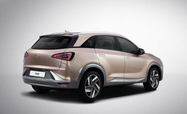 Hyundai FCEV - CES 2018