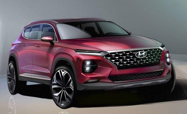 Hyundai Santa Fe 2018 - ilustración