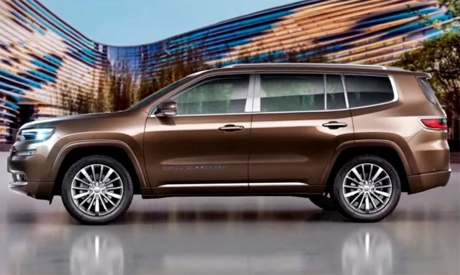Jeep Grand Commander - lateral