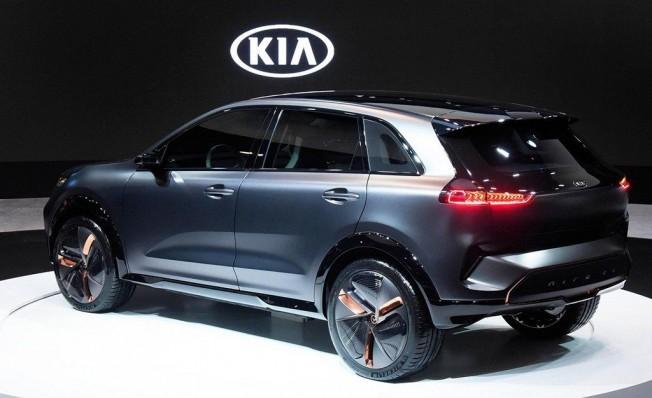 Kia Niro EV Concept - posterior