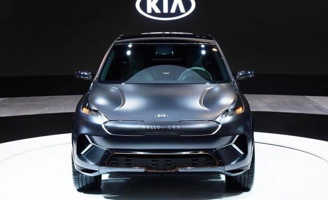 Kia Niro EV Concept - frontal