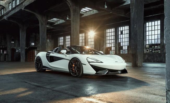 McLaren 570S Spider preparado por Novitec