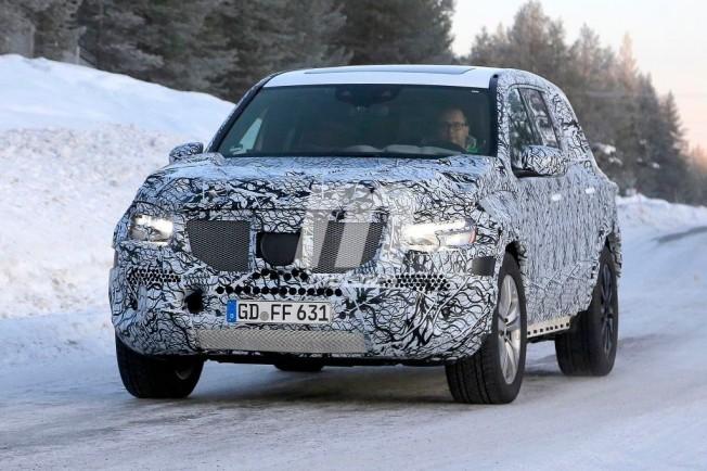 Mercedes GLS 2019 - foto espía