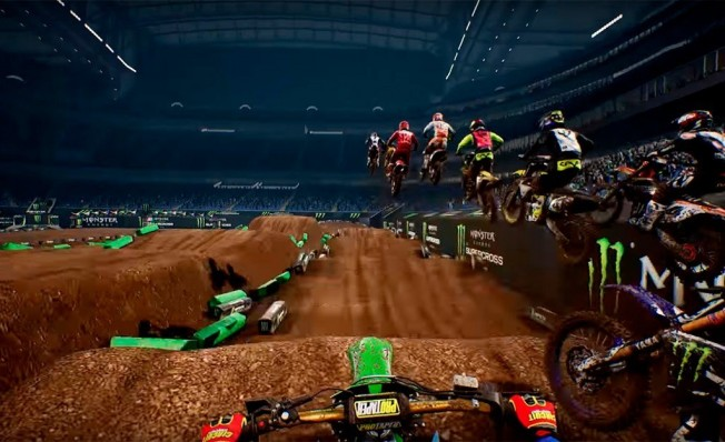 Monster Energy Supercross - Editor de circuitos