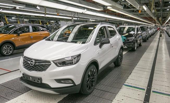 Producción de Opel en Zaragoza