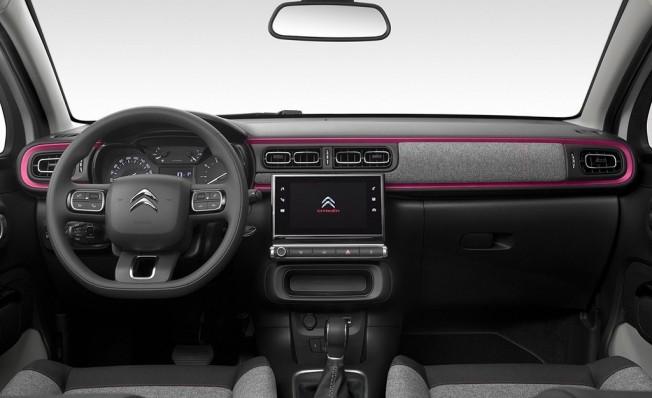 Citroën C3 ELLE - interior