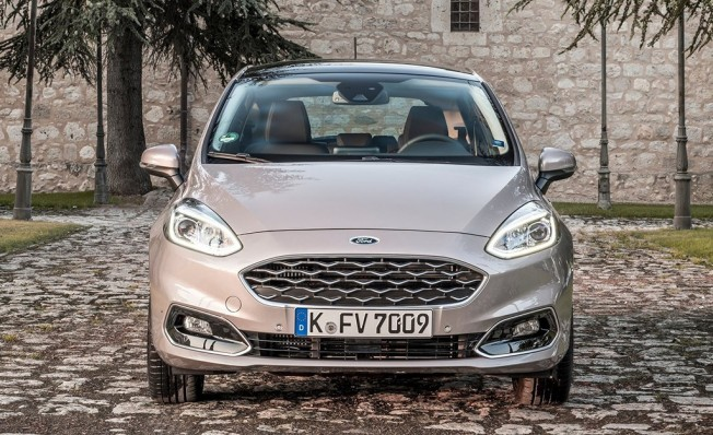 Ford Fiesta Vignale - frontal