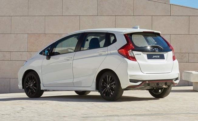 Honda Jazz 2018 - posterior