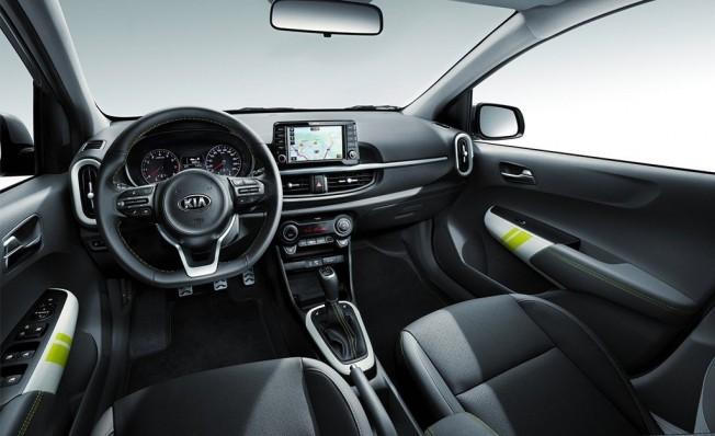 Kia Picanto X-Line - interior