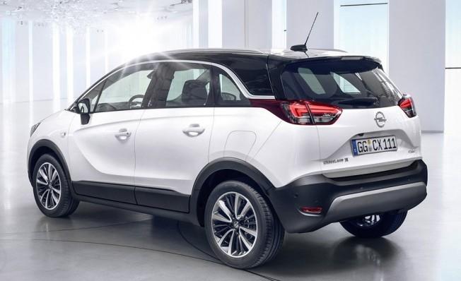 Opel Crossland X GLP - posterior
