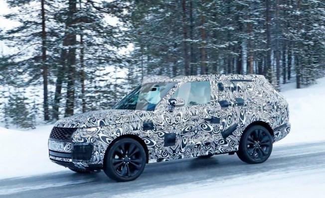 Range Rover SV Coupé 2018 - foto espía