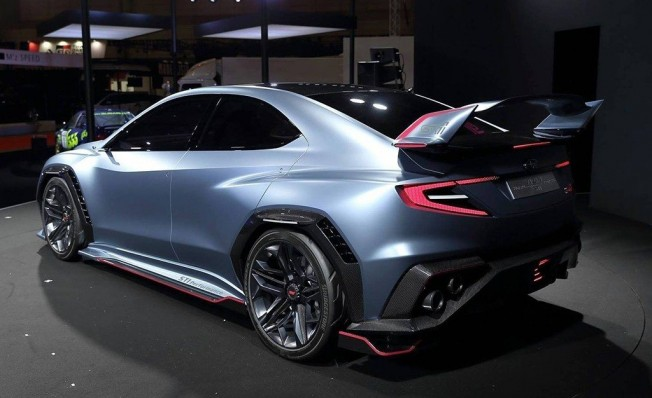 Subaru Viziv Performance STI Concept - posterior