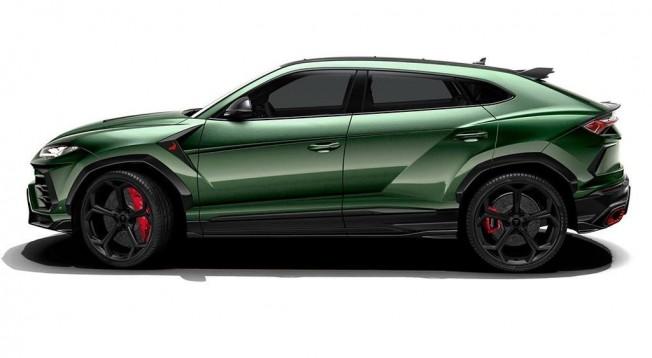 TopCar Lamborghini Urus - lateral