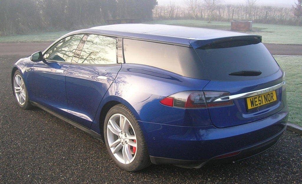 Tesla Model S Shooting Brake: el primer ejemplar funcional ya está listo