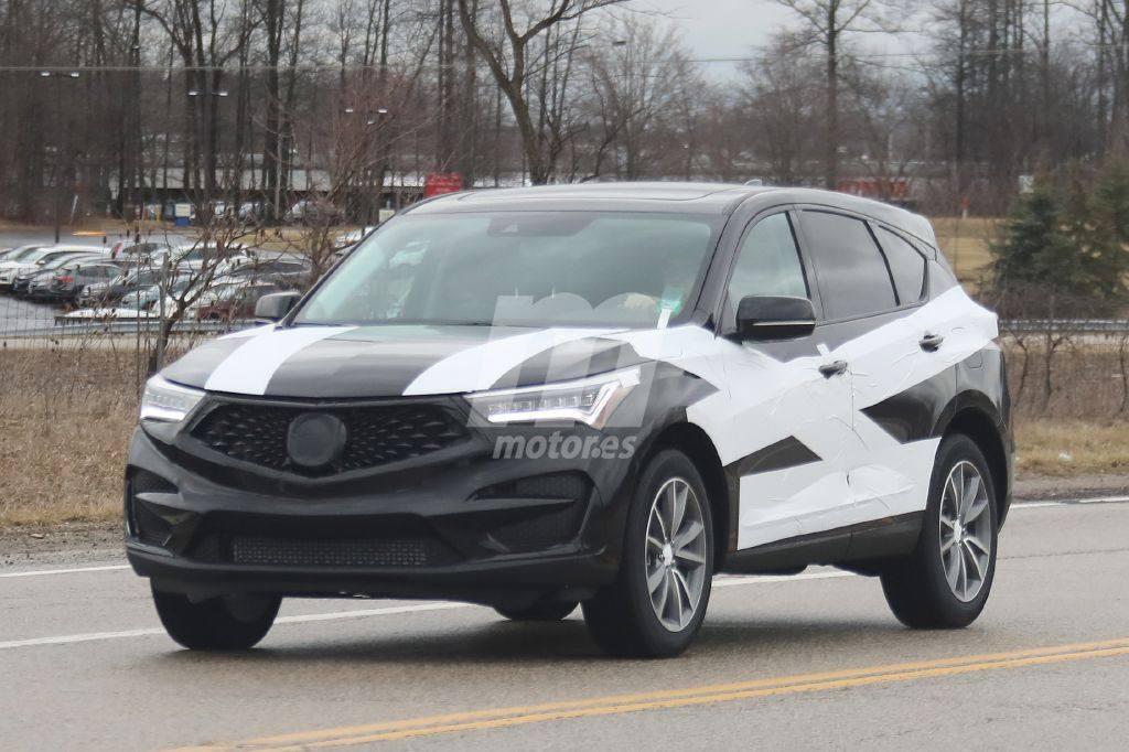 El nuevo Acura RDX 2019 cazado en su formato de producción